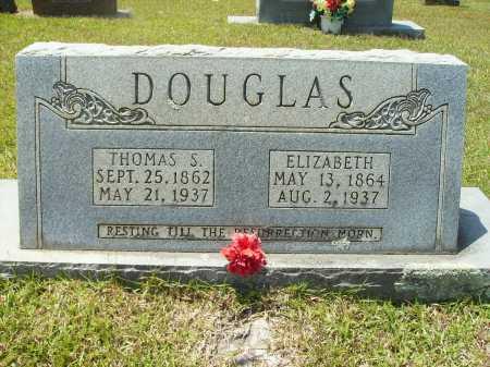 DOUGLAS, THOMAS S - Calhoun County, Arkansas | THOMAS S DOUGLAS - Arkansas Gravestone Photos