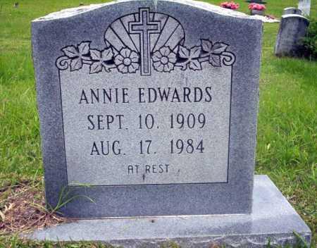 EDWARDS, ANNIE - Calhoun County, Arkansas | ANNIE EDWARDS - Arkansas Gravestone Photos