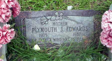 EDWARDS, PLYMOUTH J - Calhoun County, Arkansas   PLYMOUTH J EDWARDS - Arkansas Gravestone Photos