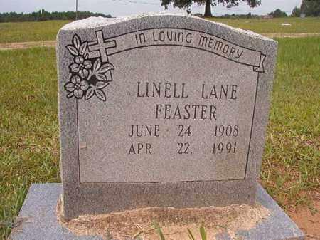 FEASTER, LINELL LANE - Calhoun County, Arkansas | LINELL LANE FEASTER - Arkansas Gravestone Photos
