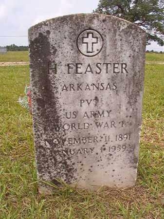 FEASTER (VETERAN WWI), H - Calhoun County, Arkansas | H FEASTER (VETERAN WWI) - Arkansas Gravestone Photos