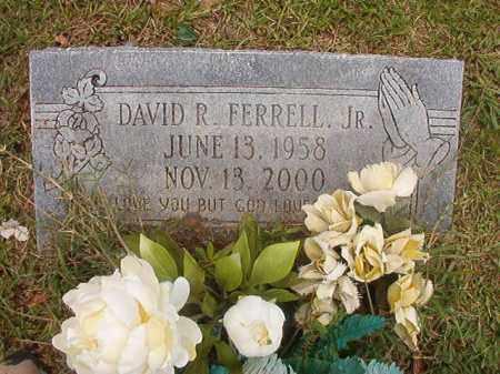 FERRELL, JR, DAVID R - Calhoun County, Arkansas   DAVID R FERRELL, JR - Arkansas Gravestone Photos
