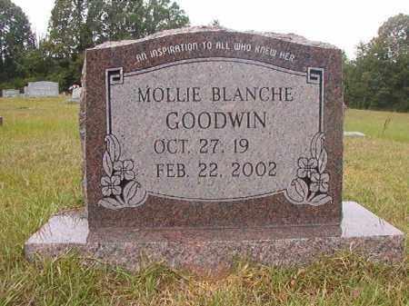 GOODWIN, MOLLIE BLANCHE - Calhoun County, Arkansas | MOLLIE BLANCHE GOODWIN - Arkansas Gravestone Photos
