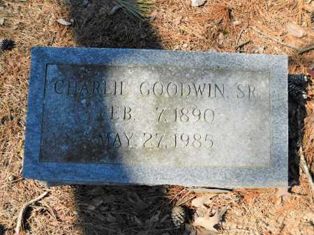 GOODWIN, SR, CHARLIE - Calhoun County, Arkansas | CHARLIE GOODWIN, SR - Arkansas Gravestone Photos