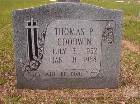 GOODWIN, THOMAS P - Calhoun County, Arkansas | THOMAS P GOODWIN - Arkansas Gravestone Photos