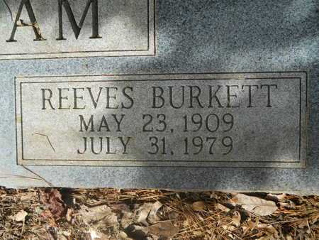 GRANTHAM, REEVES BURKETT (CLOSEUP) - Calhoun County, Arkansas   REEVES BURKETT (CLOSEUP) GRANTHAM - Arkansas Gravestone Photos