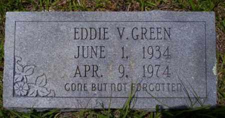 GREEN, EDDIE V - Calhoun County, Arkansas   EDDIE V GREEN - Arkansas Gravestone Photos