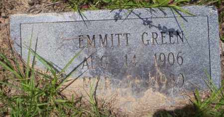 GREEN, EMMITT - Calhoun County, Arkansas   EMMITT GREEN - Arkansas Gravestone Photos