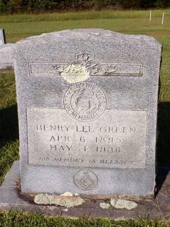 GREEN, HENRY LEE - Calhoun County, Arkansas | HENRY LEE GREEN - Arkansas Gravestone Photos