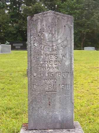 GREEN, JAMES W - Calhoun County, Arkansas | JAMES W GREEN - Arkansas Gravestone Photos