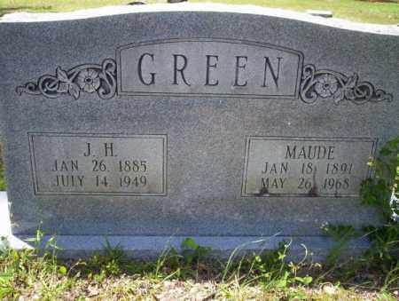GREEN, MAUDE - Calhoun County, Arkansas | MAUDE GREEN - Arkansas Gravestone Photos
