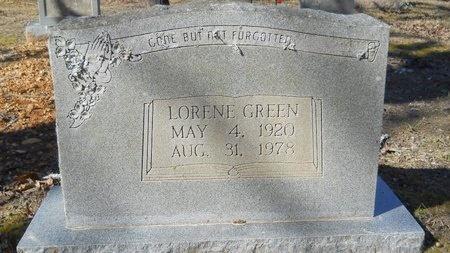 GREEN, LORENE - Calhoun County, Arkansas | LORENE GREEN - Arkansas Gravestone Photos