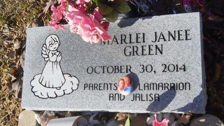 GREEN, MARLEI JANEE - Calhoun County, Arkansas | MARLEI JANEE GREEN - Arkansas Gravestone Photos