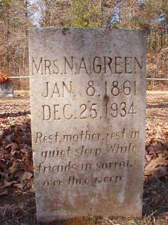 GREEN, NANCY ALMEDIA - Calhoun County, Arkansas | NANCY ALMEDIA GREEN - Arkansas Gravestone Photos