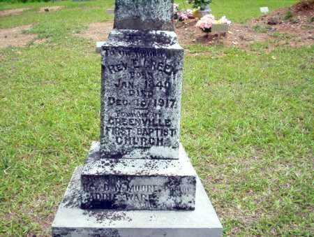 GREEN, E., REV - Calhoun County, Arkansas | E., REV GREEN - Arkansas Gravestone Photos