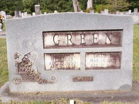 GREEN, SAPHRONIA - Calhoun County, Arkansas | SAPHRONIA GREEN - Arkansas Gravestone Photos