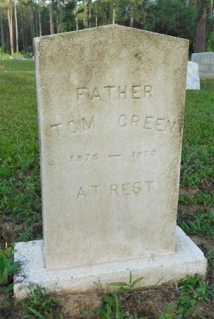 GREEN, TOM - Calhoun County, Arkansas | TOM GREEN - Arkansas Gravestone Photos