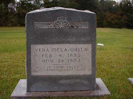 GREEN, VERA IDELA - Calhoun County, Arkansas | VERA IDELA GREEN - Arkansas Gravestone Photos
