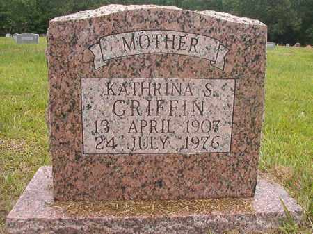 GRIFFIN, KATHRINA S - Calhoun County, Arkansas | KATHRINA S GRIFFIN - Arkansas Gravestone Photos