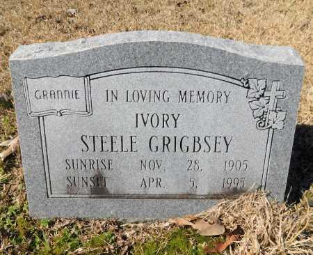 STEELE GRIGBSEY, IVORY - Calhoun County, Arkansas | IVORY STEELE GRIGBSEY - Arkansas Gravestone Photos