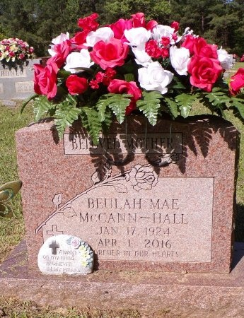 HALL, BEULAH MAE - Calhoun County, Arkansas   BEULAH MAE HALL - Arkansas Gravestone Photos