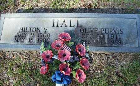 HALL, OLIVE - Calhoun County, Arkansas | OLIVE HALL - Arkansas Gravestone Photos