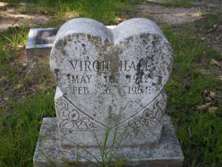 HALL, VIRGIE - Calhoun County, Arkansas | VIRGIE HALL - Arkansas Gravestone Photos