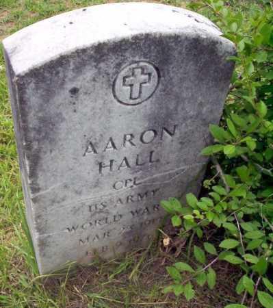 HALL (VETERAN WWII), AARON - Calhoun County, Arkansas | AARON HALL (VETERAN WWII) - Arkansas Gravestone Photos