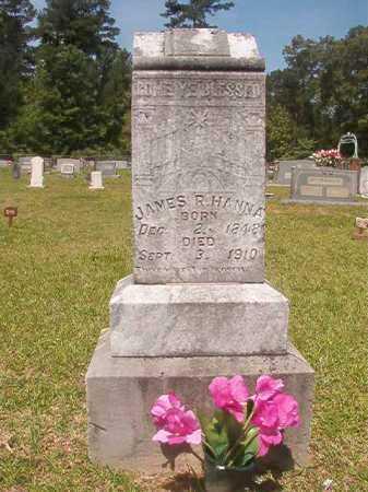 HANNA, JAMES RUSSELL - Calhoun County, Arkansas   JAMES RUSSELL HANNA - Arkansas Gravestone Photos