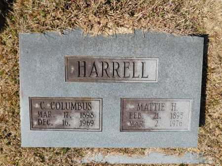 HARRELL, MATTIE H - Calhoun County, Arkansas   MATTIE H HARRELL - Arkansas Gravestone Photos