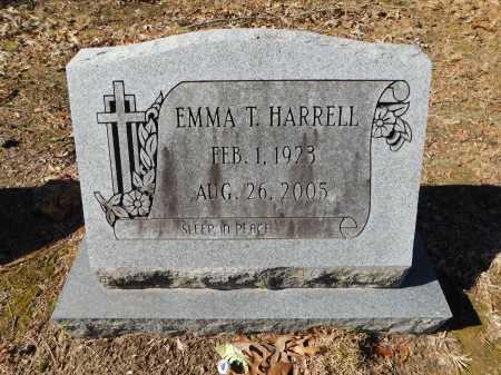 HARRELL, EMMA T - Calhoun County, Arkansas | EMMA T HARRELL - Arkansas Gravestone Photos