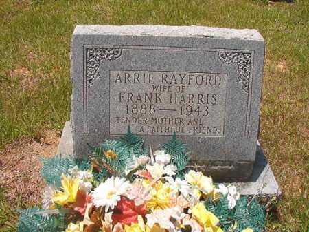 HARRIS, ARRIE - Calhoun County, Arkansas   ARRIE HARRIS - Arkansas Gravestone Photos