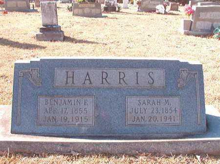 HARRIS, BENJAMIN F - Calhoun County, Arkansas | BENJAMIN F HARRIS - Arkansas Gravestone Photos