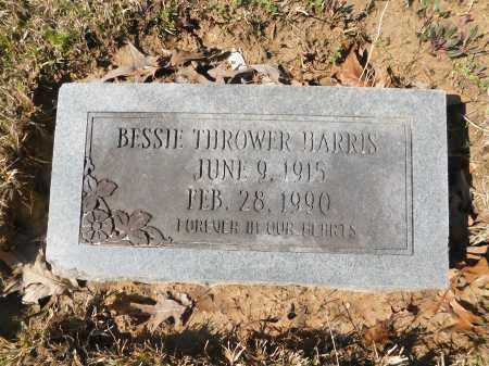 THROWER HARRIS, BESSIE - Calhoun County, Arkansas | BESSIE THROWER HARRIS - Arkansas Gravestone Photos