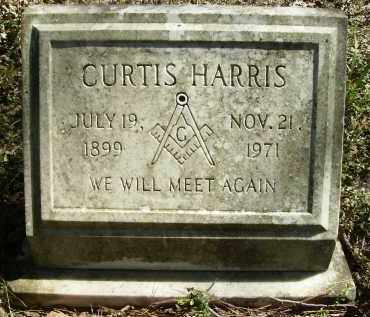HARRIS, CURTIS - Calhoun County, Arkansas | CURTIS HARRIS - Arkansas Gravestone Photos