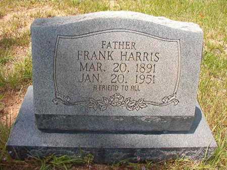 HARRIS, FRANK - Calhoun County, Arkansas   FRANK HARRIS - Arkansas Gravestone Photos