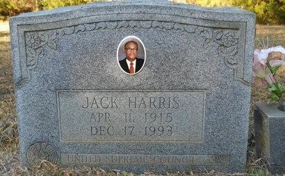 HARRIS, JACK - Calhoun County, Arkansas   JACK HARRIS - Arkansas Gravestone Photos