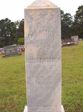 HARRIS, MARY E - Calhoun County, Arkansas   MARY E HARRIS - Arkansas Gravestone Photos