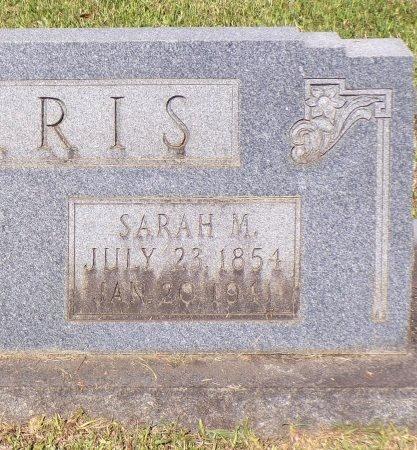 HARRIS, SARAH M (CLOSE UP) - Calhoun County, Arkansas | SARAH M (CLOSE UP) HARRIS - Arkansas Gravestone Photos