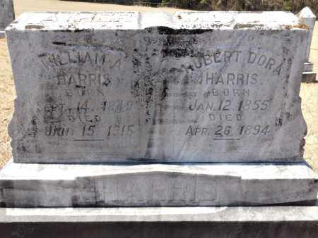 HARRIS, ROBERT DORA - Calhoun County, Arkansas | ROBERT DORA HARRIS - Arkansas Gravestone Photos