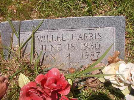 HARRIS, WILLEL - Calhoun County, Arkansas | WILLEL HARRIS - Arkansas Gravestone Photos