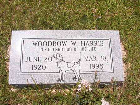 HARRIS, WOODROW W - Calhoun County, Arkansas | WOODROW W HARRIS - Arkansas Gravestone Photos