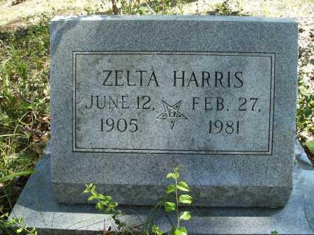 HARRIS, ZELTA - Calhoun County, Arkansas | ZELTA HARRIS - Arkansas Gravestone Photos