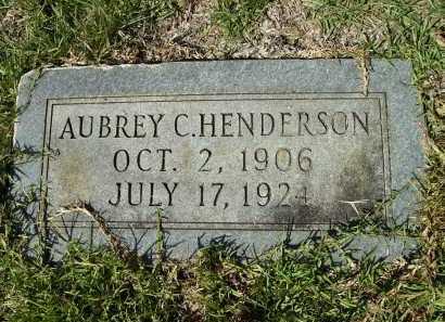 HENDERSON, AUBREY C - Calhoun County, Arkansas | AUBREY C HENDERSON - Arkansas Gravestone Photos