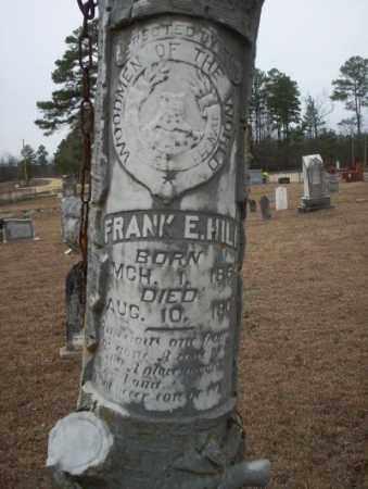 HILL, FRANK E - Calhoun County, Arkansas   FRANK E HILL - Arkansas Gravestone Photos