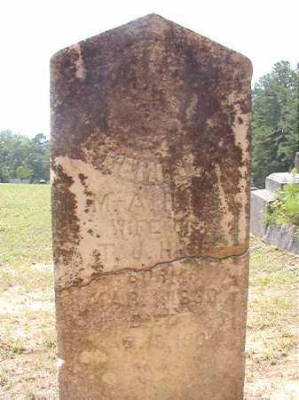 HILL, M A - Calhoun County, Arkansas   M A HILL - Arkansas Gravestone Photos
