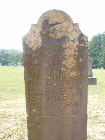 HILL, MOLLIE E - Calhoun County, Arkansas | MOLLIE E HILL - Arkansas Gravestone Photos