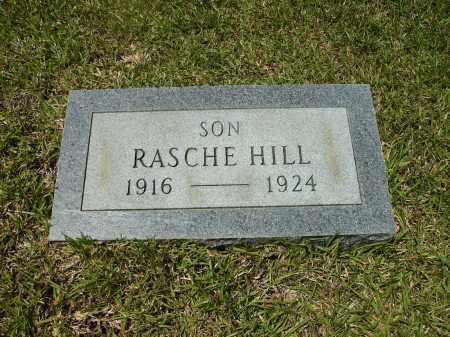 HILL, RASCHE - Calhoun County, Arkansas | RASCHE HILL - Arkansas Gravestone Photos