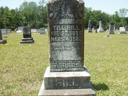 HILL, TILL - Calhoun County, Arkansas | TILL HILL - Arkansas Gravestone Photos