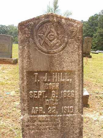 HILL, T J - Calhoun County, Arkansas   T J HILL - Arkansas Gravestone Photos